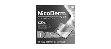 nicoderm cq nicotine patches