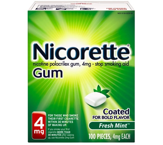 nicotine gum key points