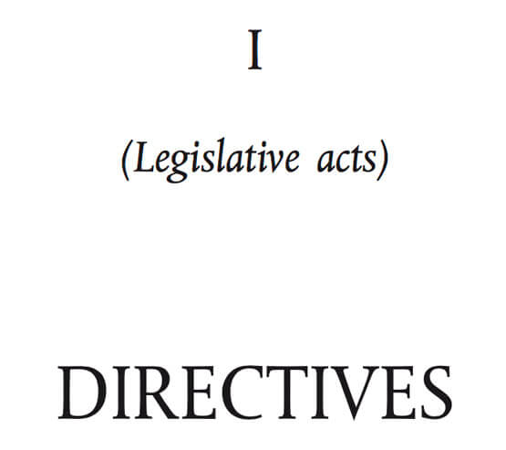 european union tobacco products directive