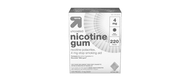 up and up nicotine gum