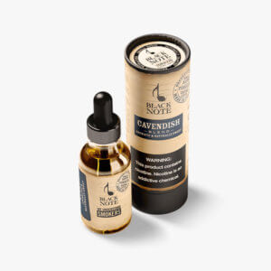 Black Note Cavendish Blend Tobacco E Liquid