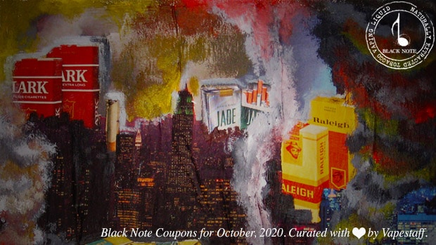 black note coupon october 2020