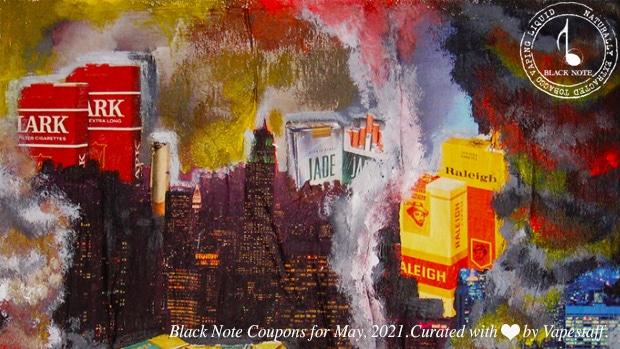 black note coupons may 2021