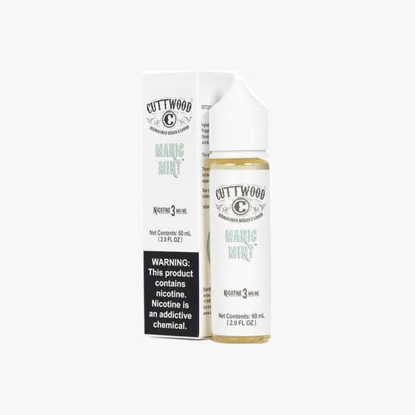 Cuttwood Manic Mint Menthol E Liquid