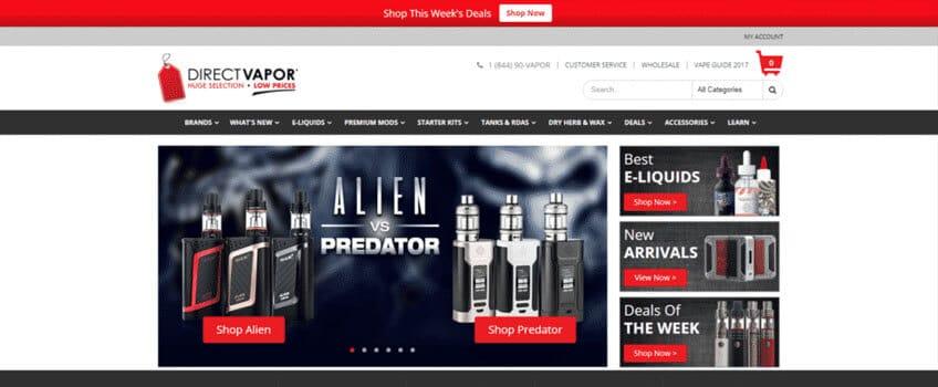 Direct Vapor Coupon | #1 Online Vape Shop | Save BIG