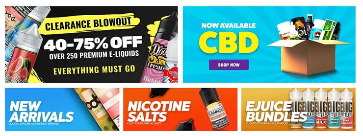 Additional offers from Ejuice.Deals for July
