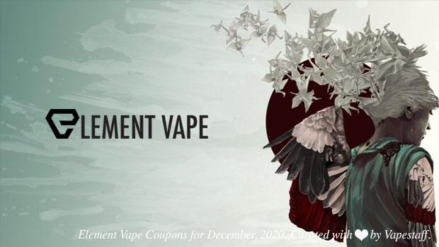element vape coupon december 2020