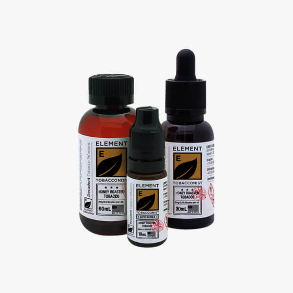 Element Tobacconist Honey Roasted Tobacco Vape Juice