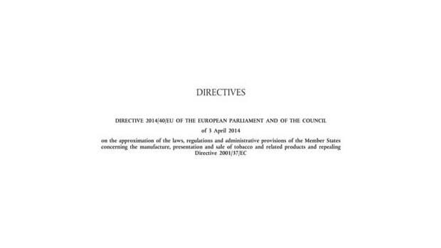 eu tobacco products directive