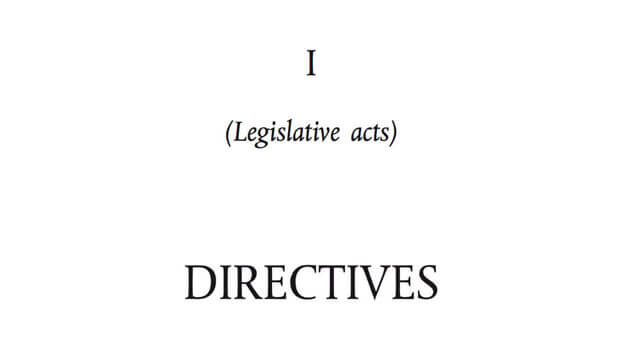 european union products directive