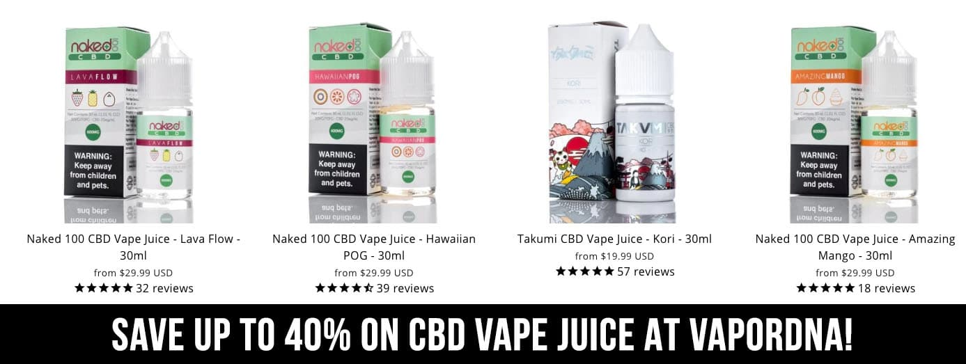exclusive vapordna juice discounts for March