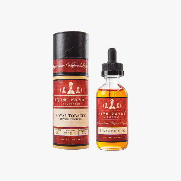Five Pawns Royal Tobacco Vape Juice