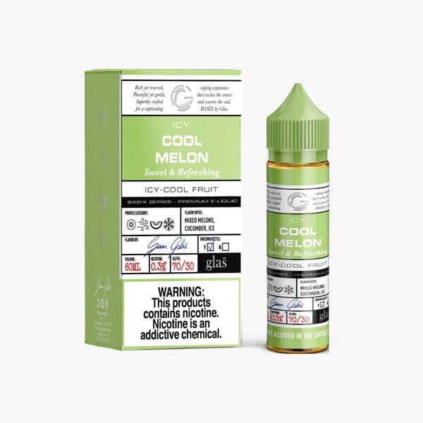 Glas Vapor Cool Melon Menthol Vape Juice