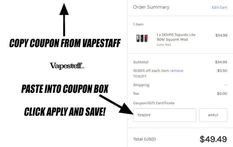 guide to using eciggity coupons