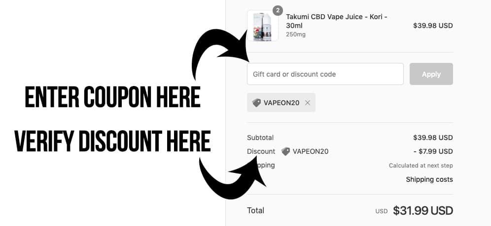 guide to using vapordna promo code