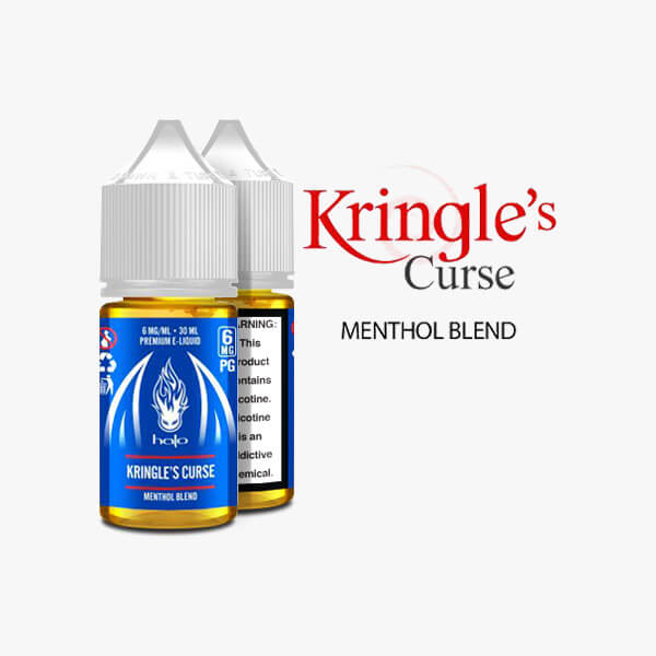 Halo Cigs Kringle's Curse Menthol Vape Juice