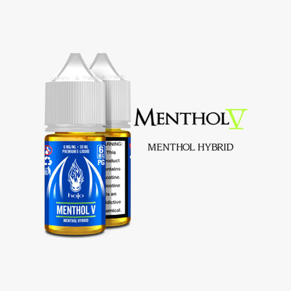 Halo Cigs Menthol V Vape Juice