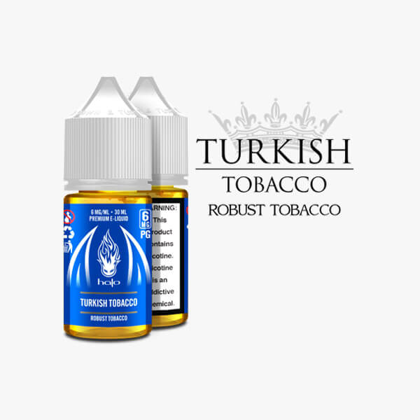 Halo Cigs Turkish Tobacco Vape Juice