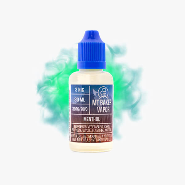 Mt Baker Vapor Menthol Vape Juice