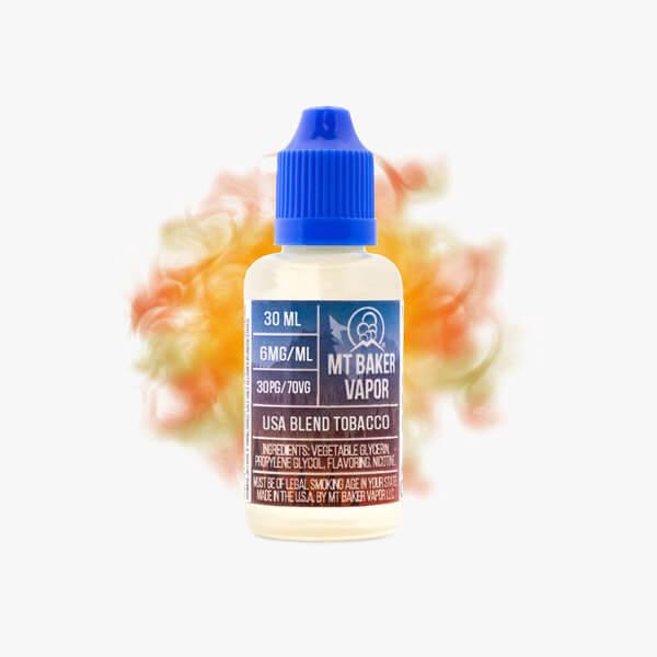Mt Baker Vapor USA Blend Tobacco Vape Juice