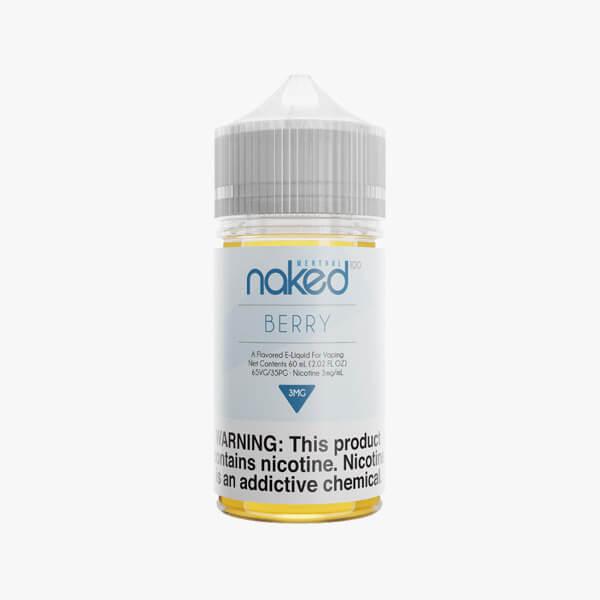 Naked 100 Berry Menthol Vape Juice