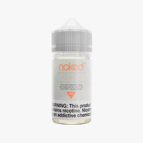 Naked 100 Peach Dessert Vape Juice