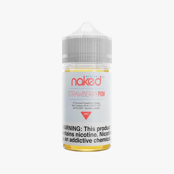 Naked 100 Strawberry POM Menthol Vape Juice