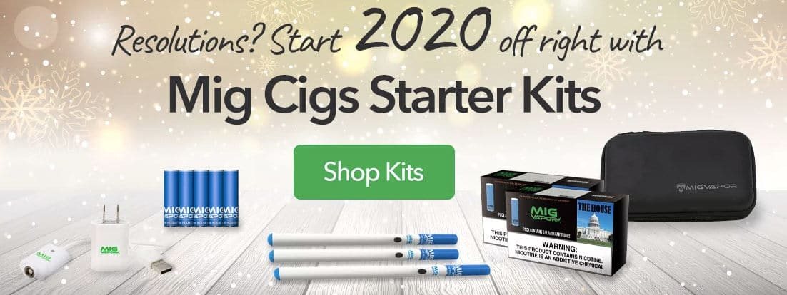 new year sale from mig vapor