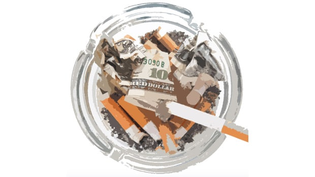 problems with tobacco cigarette smoking