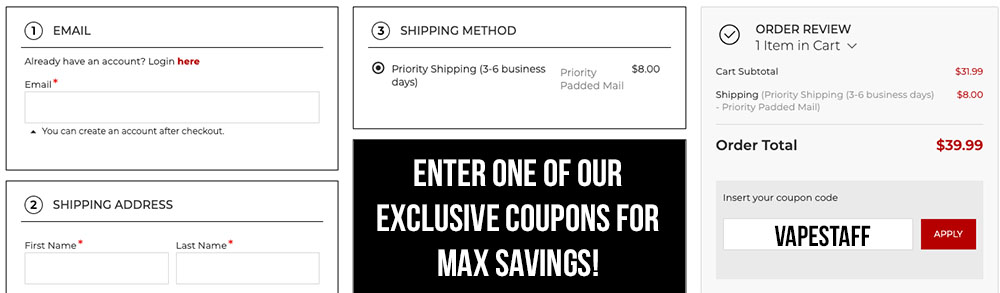 tips for getting the max element vape discount