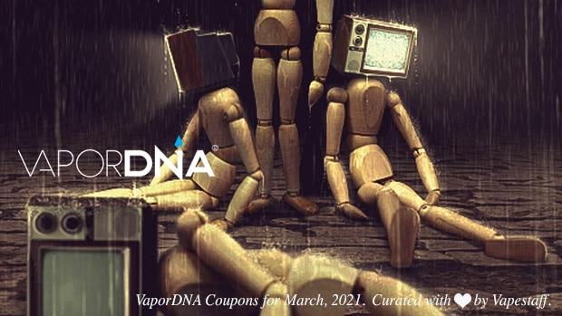 vapordna coupons march 2021