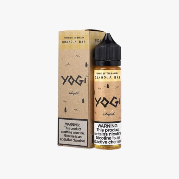 Yogi Peanut Butter Banana Granola Bar Dessert Vape Juice